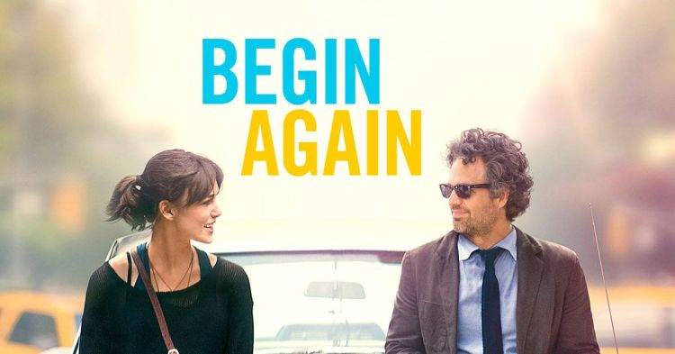 Begin Again - Movies that bring a smile to your face