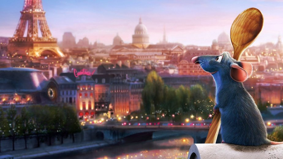 Ratatouille - Movies that make you smile