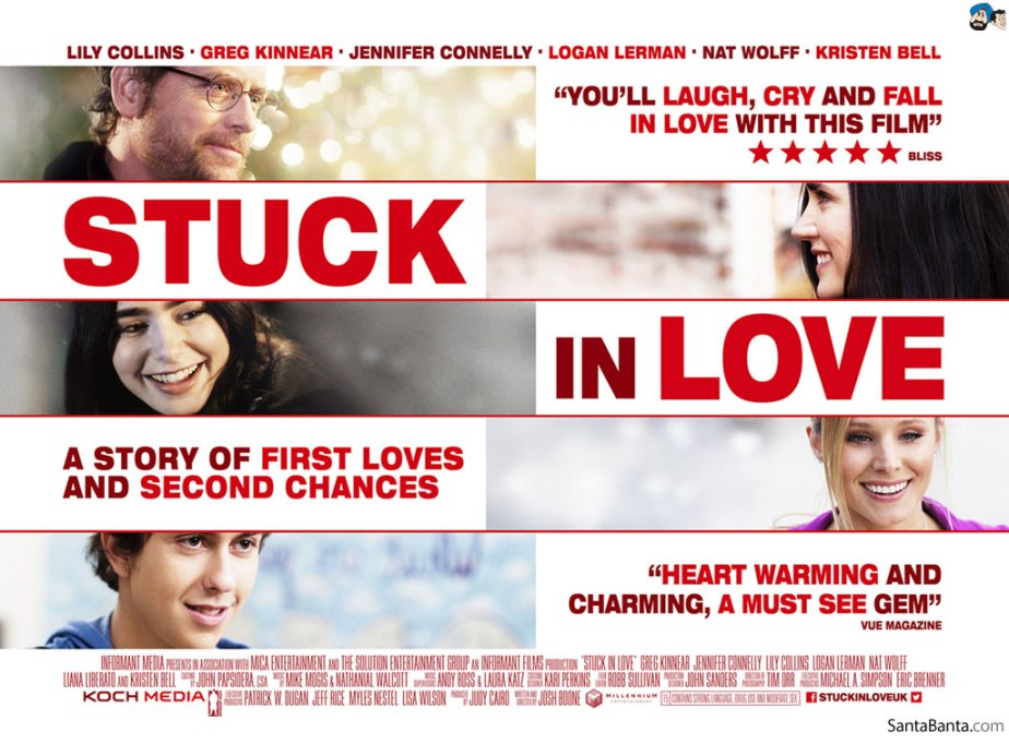 Stuck in Love - Film Review