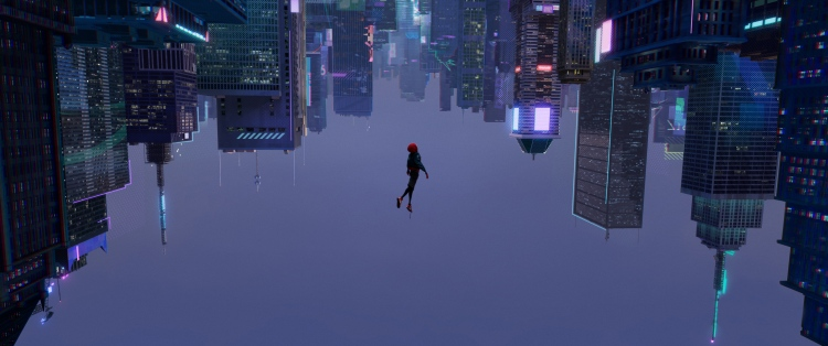 Spiderman Into the Spider Verse - Film Review